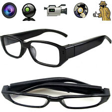 1280*720P HD SPY VIDEO GLASSES HIDDEN AUDIO/VIDEO 1.2MP CAMERA DVR & MICROPHONE