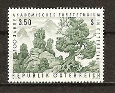 Austria # 802 Mnh Study Of Forestry