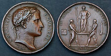 Napoléon Empereur. Le Sénat et le Peuple. An XIII. ORIGINAL. Cuivre