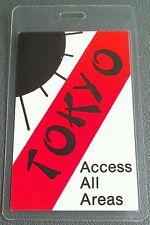 1983 11/ 26-30 U2 Backstage Pass War Tour Tokyo Japan 2 Sided