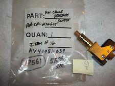 NEW UNITED ELECTRIC PIN CHUCK PRESSURE SWITCH J40 9613 9640 CP-272605 (C4-1)