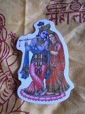 Aufkleber goa psy hippie sticker indien inde Buddha Krishna Radha yoga om