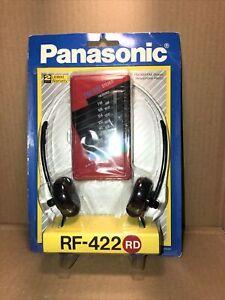 Panasonic Red RF-422 RD AM/FM Portable Radio Vintage 80s IOP NEW UnOpened