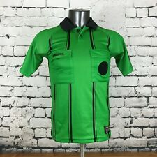Team Ref Soccer Referee Jersey Green Short Sleeve Size Extra Small XS