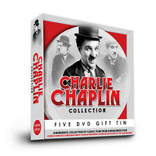 CHARLIE CHAPLIN WONDERFUL REEL COLLECTION 5 DVD SET GIFT TIN 37 CLASSIC FILMS