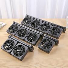 DC12V Aquarium Cooling Fan Mute Multi-angle Temperature Control Water Cooler