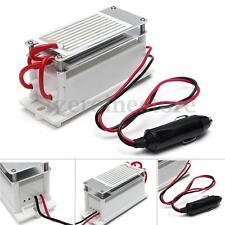 Ozone Generator Ceramic Plate DC12v 7g/h Car Portable Air Sterilizer Cleaner Kit