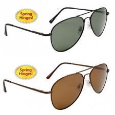 Pilot Unbranded Metal Frame 100% UV Sunglasses for Men