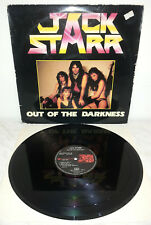 LP JACK STARR - OUT OF THE DARKNESS - FRANCE - 7011 - 1ST