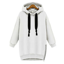 Women Casual Sports Hoodie Jumper Pullover Hooded Loose Sweater Shirt Plus Size