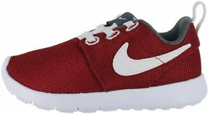 NEW Nike Roshe One (TDV) Sneakers Toddlers Size 6C White/Red (749430 603)