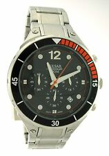 Pulsar On The Go Stainless Steel Analog Chronograph Men's Sport Watch PT3635