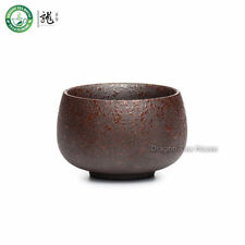 Brown Chian Ceramic Teacup Chinese Gongfu Kung Fu Tea Ceremony Cup 60ml 2.02oz