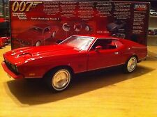 Ford Mustang Mach 1, Red, James Bond Car, 1:18 by ERTL -Joy Ride - New in Box!