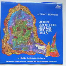 ANTONY HOPKINS John and the magic music man UNICORN  RHS 360