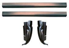 Slip-on Rocker Panel and Cab Corner kit for 02-08 Ram Quad Cab 1500 2500 3500