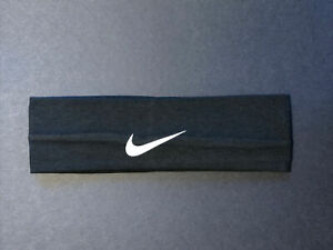 New Nike stretch headband, One size fits all, Black, Unisex