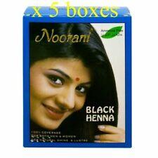 Noorani Henna Powder Color Hair Dye Black 10g X 6pcs Ammonia