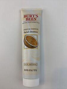 Burts Bees Natural Face Essentials Orange Essence Facial Cleanser Size 4.3 Oz
