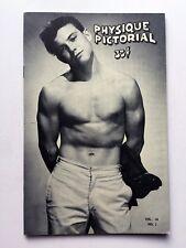 July 1964 Physique Pictorial Gay Men's Erotic Magazine Cover Jim Paris