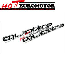 Quattro Badge Logo Grille Emblem for Audi A1 A3 A4 A5 A6 A7 A8 Q3 Q5 TT RS Style