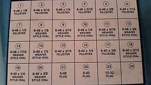 46pc PACHMAYR MASTER GUNSMITHING SCREW SET 23 COMMON SCREWS/PLUGS SCOPE/BASE @@