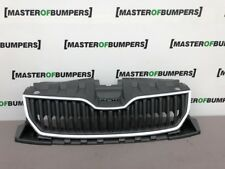 SKODA FABIA 2015-2018 FRONT BUMPER MAIN GRILL GENUINE CHROME