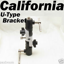 U Type Flash Bracket umbrella Adapter Canon Nikon Pentax Olympus Speedlite F50R