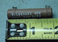 Milwaukee 6800 6.8k Ohm 12W Power Resistor High Wattage NEW USA Wire Wound