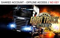 Euro Truck Simulator 2 PC [includes 70 DLC] Steam OFFLINE - READ DESCRIPTION