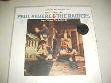 """Paul Revere & the Raiders """"Just Like Us"""" SEALED White Vinyl LP - Brand NEW"""