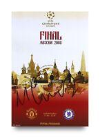 Michael Carrick Signed 6x4 Photo Manchester United Autograph Memorabilia + COA