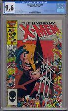 UNCANNY X-MEN #211 CGC 9.6 1ST MARAUDERS WHITE PAGES