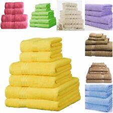 Towels Set 100% Cotton Bath Sheet Hand Large Bale 500 GSM Bathroom & 6 Piece Set