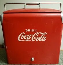 ANTIQUE DRINK COCA COLA COOLER ACTON MFG. CO .