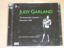BOITIER 2 CD / JUDY GARLAND / THE AMSTERDAM CONCERT 1960 / TRES BON ETAT
