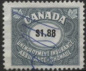 Canada VanDam #FU82 - $1.88 slate blue Unemployment stamp of 1960 used