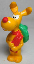 BANDAI DIC 1983 INSPECTOR GADGET BRAIN THE DOG 3'' PVC FIGURE RARE