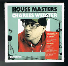 HOUSE MASTERS - CHARLES WEBSTER - LIMITED EDITION UNMIXED 2 CD DJ FORMAT - NEW