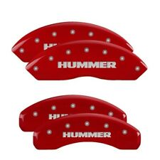 MGP Red Aluminum Caliper Covers for 2006 - 2010 Hummer H3 / H3T Base & Alpha