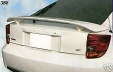 UN-PAINTED GREY PRIMER FINISH FOR TOYOTA CELICA 2000-2005 REAR SPOILER