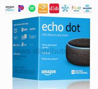 🔥 Amazon Echo Dot Latest 2018 (3rd Generation) Smart speaker Alexa Charcoal 🔥