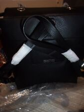 NEW Kenneth Cole ReactionBlack Leather Kayla Backpack Black NWT MSRP $89