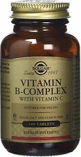 B-Complex with Vitamin C Stress Formula, Solgar, 100 tablet