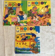 Set of 3 Vintage 1988 Noddy Hardcover Books - By Enid Blyton.