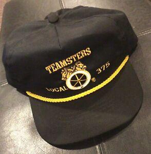 Trucker Hats Fits Unconstructed International-Brotherhood-of-Teamsters-9 Printed
