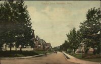Roslindale MA Fletcher St. c1910 Postcard