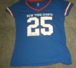 OFFICIAL NFL TEAM APPAREL WOMEN'S NEW YORK GIANTS   SIZE XL-FREE SHIPPING
