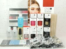 CND Gel INTRO Pack Color Kit of 5 Colors & Base Top Coat / Intro Pack System