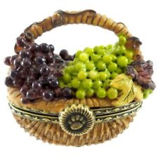 """Boyds Bears Trinket """"Concorde'S Grape Basket Frenchie McNibble"""" * Free Shipping"""